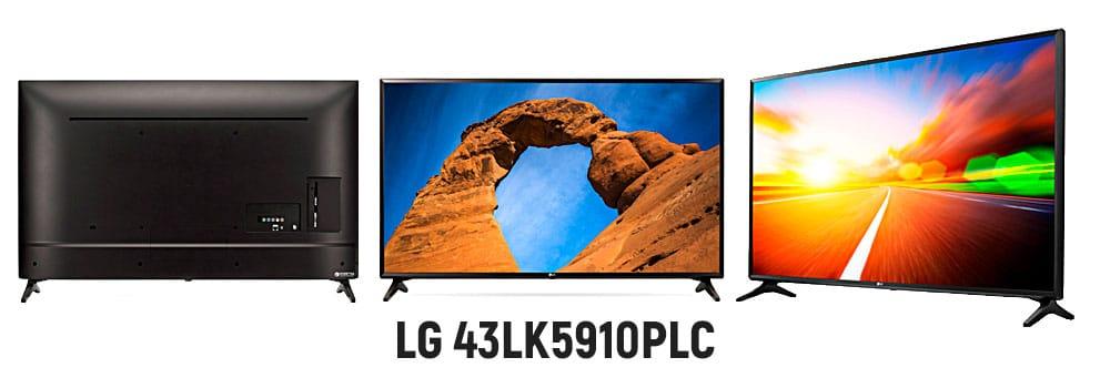 Бюджетный телевизор LG 43LK5910PLC