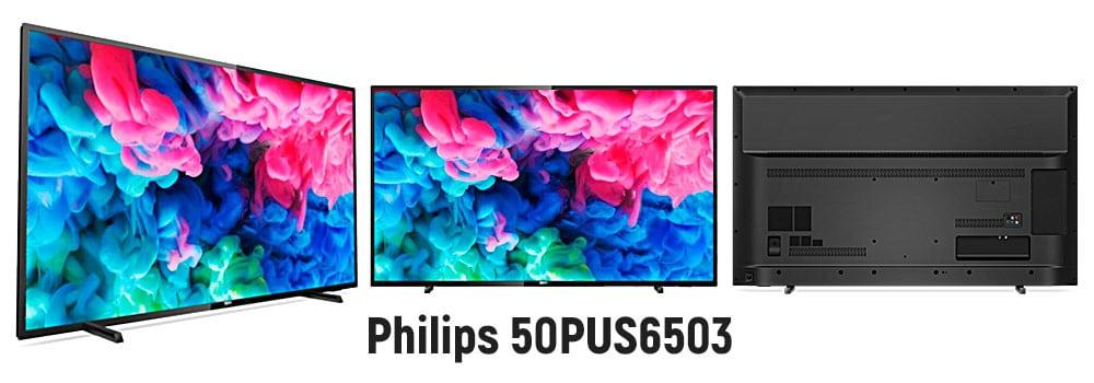 Бюджетный 4к телевизор Philips 50PUS6503