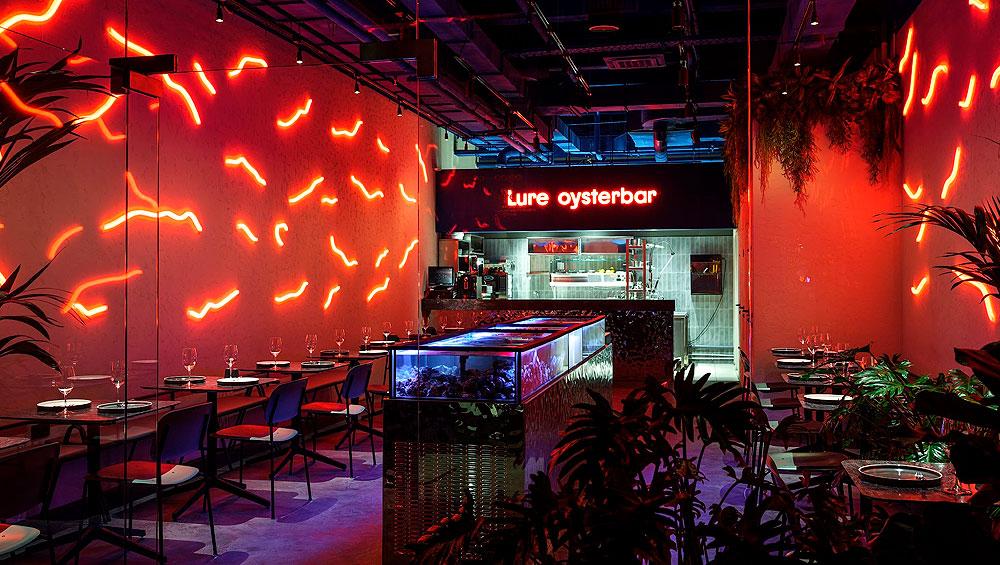 Lure Oyster Bar - устричный ресторан бар