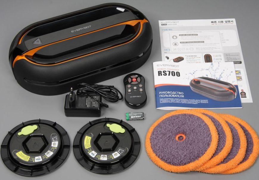EVERYBOT RS700 Внешний вид и комплектация