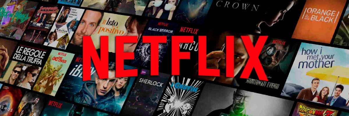 Сайт для просмотра фильмов Netflix